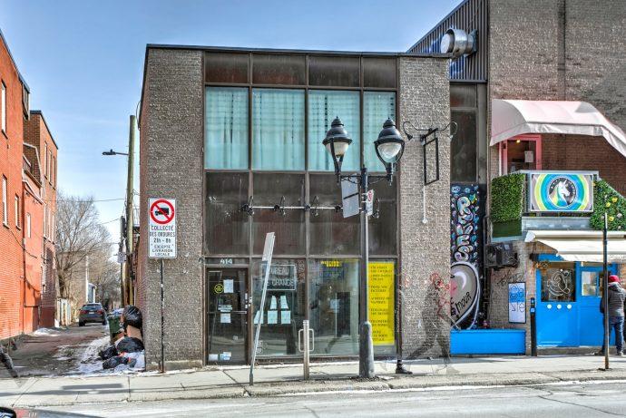 412 – 414 Av. du Mont-Royal E.  Le Plateau-Mont-Royal (Montréal)